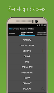 Universal Remote for HTC One screenshot 3