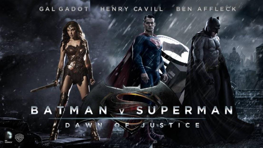 Batman vs Superman: Dawn of Justice movie poster