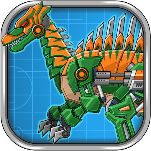 Assemble Robot War Spinosaurus 教育 App LOGO-硬是要APP