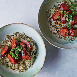 Chorizo with Rice and Lentils Recipe