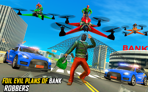 Drone Rescue Simulator: Flying Bike Transport Game android2mod screenshots 7
