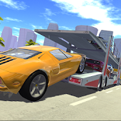 Car Cargo Transport Driver 3D