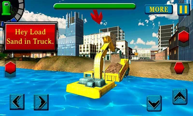 River-Sand-Excavator-Simulator 41