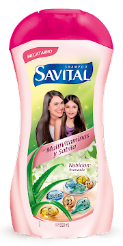 Shampoo Savital Con Multivitaminas Y Sabila X 550ml