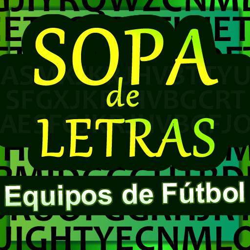 Sopa de letras Equipos Fútbol
