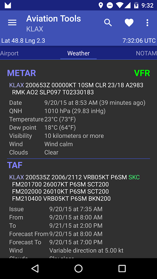 Aviation Tools- screenshot