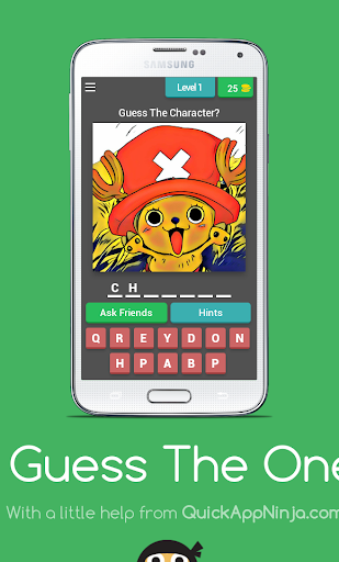 玩免費益智APP|下載Guess The One Piece Character app不用錢|硬是要APP