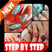 DIY Nail Toe Art Designs Offline Home Craft Ideas