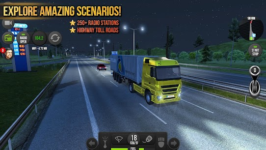 تحميل لعبة Truck Simulator 2018 : Europe للأندرويد آخر إصدار 2