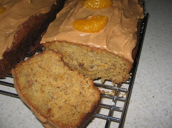 Mandarin Orange And Almond Nut Bread Recipe