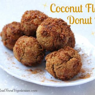 Coconut Flour Donut Holes.