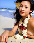 Swimwear Model Leah Dizon 38