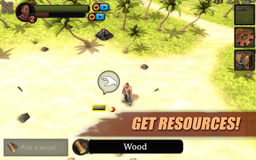 Android için Survival Game: Lost Island PRO Oyunlar screenshot