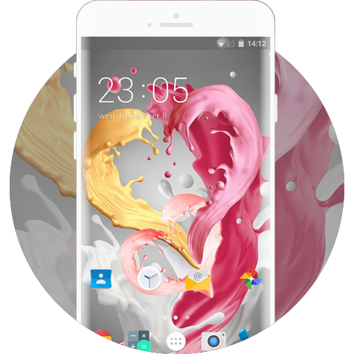 Love Heart Launcher Theme for Intex Aqua Y4 APK indir