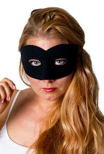 Ögonmask, Elegant svart