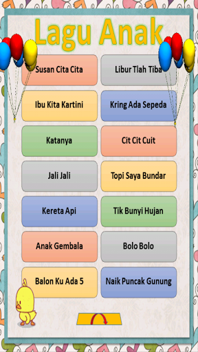 Lagu Anak Indonesia Lengkap 2