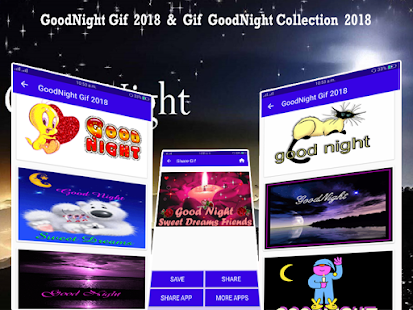 Gif Good Night Collection 2018 - náhled