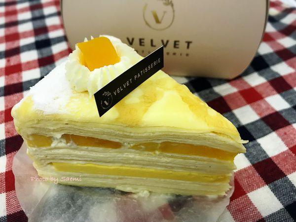法絨法式手工甜點 velvet patisserie |芒果千層vs.蜜桃千層vs.瑪黑伯爵千層蛋糕,吃遍千層也不厭倦| 外帶品嚐版二訪