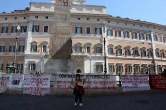 Photo: Roma, 6 luglio 2013 in Piazza Montecitorio