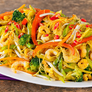 Vermicelli Rice Noodles.