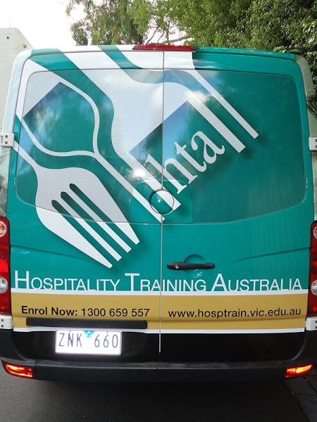 Photo: VW Crafter vehicle wrap http://www.autoskin.com.au/2013/04/22/vw-crafter-hospitality-training-australia/