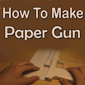 How To Make Paper Guns Video