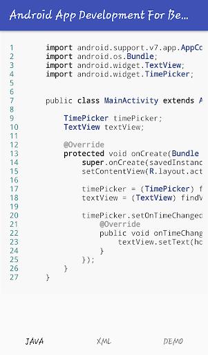Mobile Application Development (Premium) screenshot 4