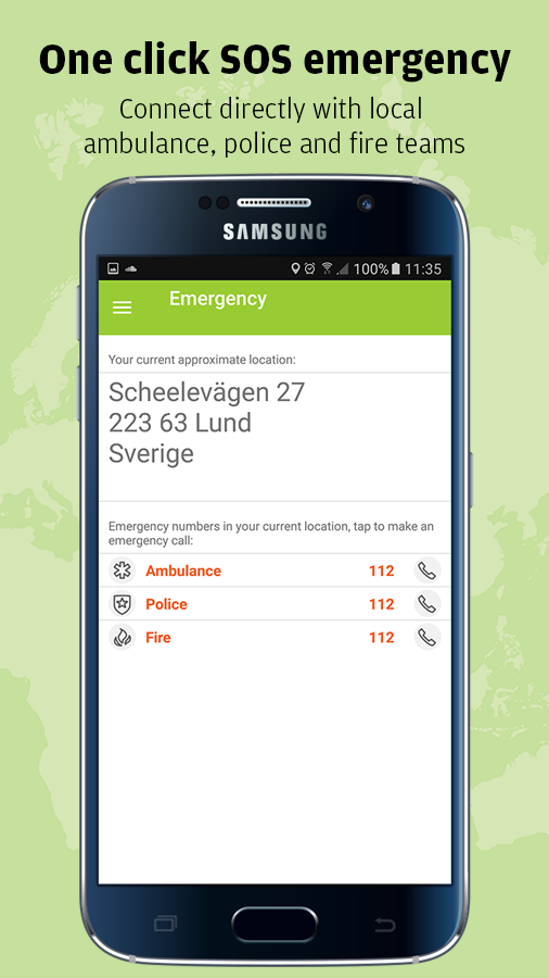 Safeture - Travel safe- screenshot