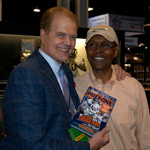 Photo: Chester with the incomparable Gale Sayers. Coppock and the Comet have been pals for 45 years.
