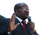 Jacob Zuma. File photo.