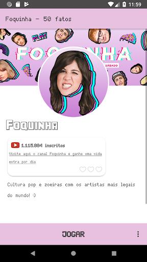 Foquinha - 50 Fatos screenshot 1