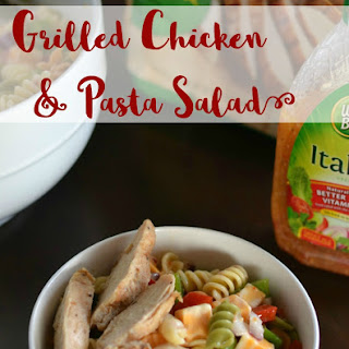 Pasta Salad & Grilled Chicken
