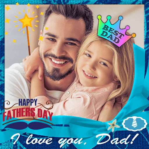 Happy Father Day Photo Frames