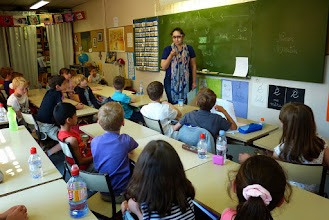 Photo: En classe