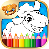 123 Kids Fun COLORING BOOK Pro