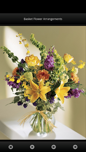 花の装飾。