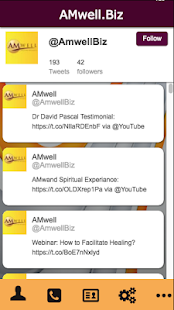 AMwell.Biz- screenshot thumbnail