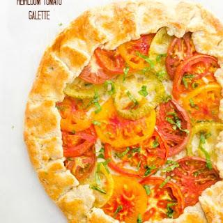 Heirloom Tomato Galette {Farmer's Market Friday}