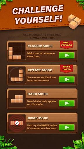 Fill Wooden Block 8x8: Wood Block Puzzle Classic  screenshots 5
