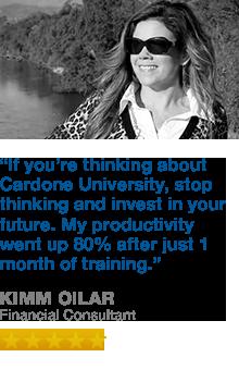 Cardone University Testimonial