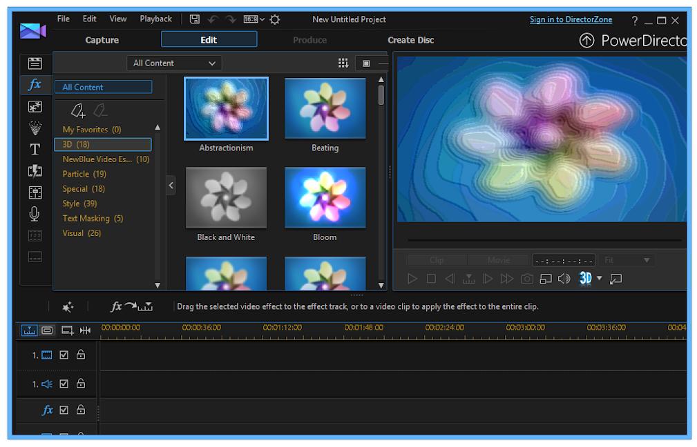 phần mềm sửa video CyberLink PowerDirector