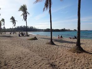 Photo: Neturistická pláž.
