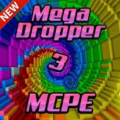 Mega Dropper 3 map for MCPE