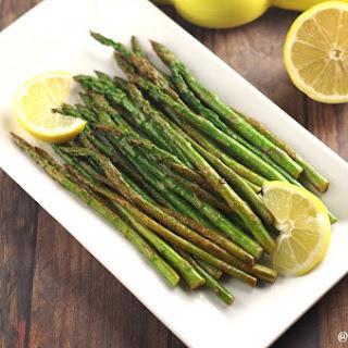 Lemon Wok Asparagus (4 Ingredients)
