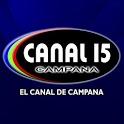 Canal 15 Campana icon
