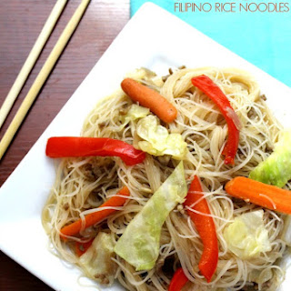Pancit Bihon [Filipino Rice Noodles]