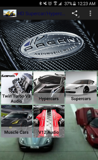 HD Supercar Hypercar Wallpaper