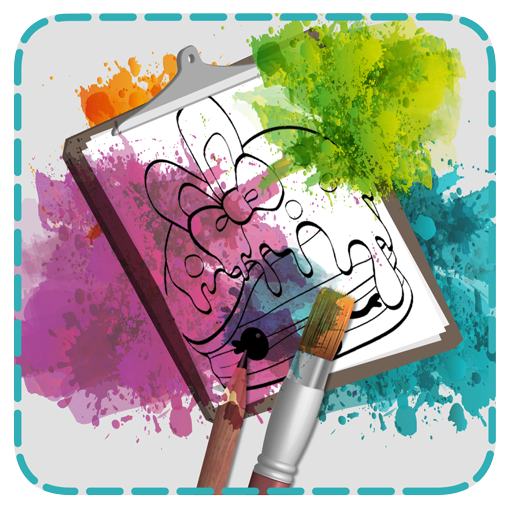 Coloring Kids for Num Noms