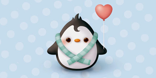 Penguin Theme for CM Launcher