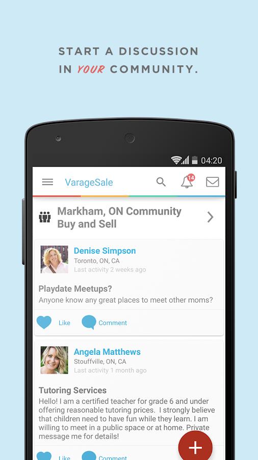 VarageSale: Buy. Sell. Local. - screenshot